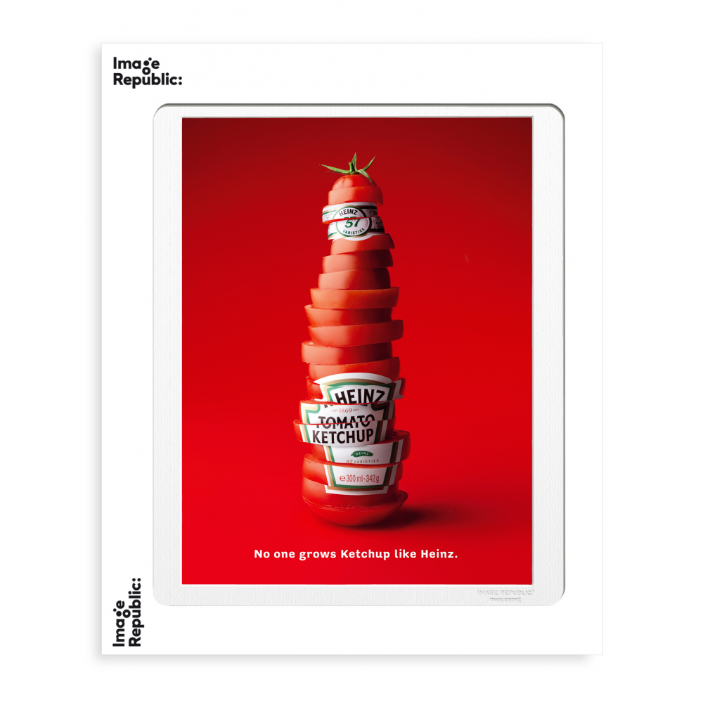 ADV HEINZ SLICED BOTTLE