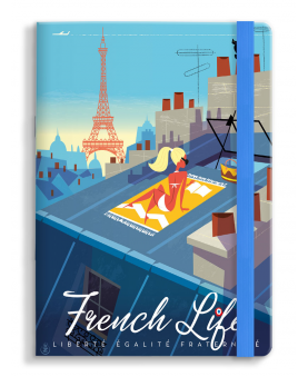 PRE-ORDER AVAILABLE APRIL 15 - Notebook Monsieur Z French Life