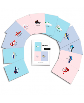 Eventail Postcards Duo Sneakers