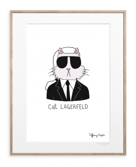 TIFFANY COOPER CAT LAGERFELD