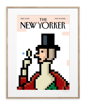 136 NIEMANN PIXELATED EUSTACE TILLEY