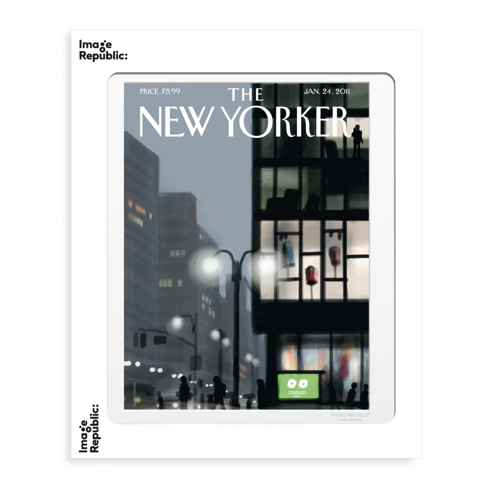 THE NEWYORKER 21 COLOMBO LAMPADAIRE